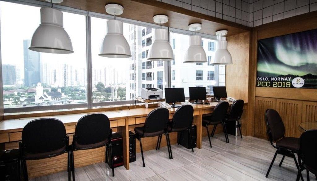 Lounge Area Virtual Office Jakarta Selatan - Samudra Office