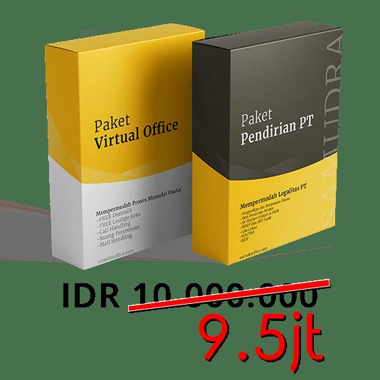 Promo Paket Virtual Office dan Pendirian PT 9.5jt